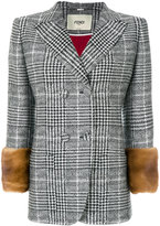 Fendi Glen plaid jacket