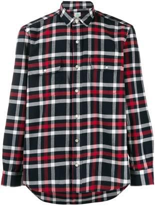Finamore 1925 Napoli long sleeved cotton shirt