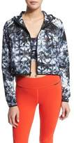Alala Woven Mesh-Inset Athletic Zip Jacket, Palm Shadow
