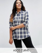 Asos Shirt in Blue Check