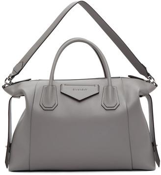 Givenchy Grey Soft Medium Antigona Bag