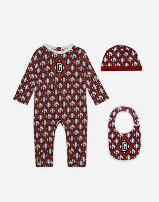 Dolce & Gabbana 3 Piece Gift Set With Net Print