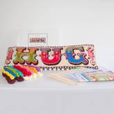 Emily Peacock Hug Cross Stitch Kit