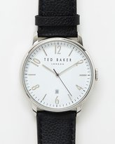 Ted Baker Daniel Leather Watch