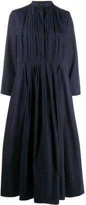 Jil Sander Pleated Front Midi Dress