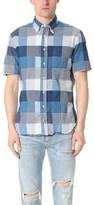 Gitman Brothers Short Sleeve Summer Blues Mashup Shirt