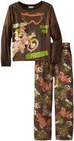 Komar Kids Boys 8-20 Supercross 2 Piece Pajama Set