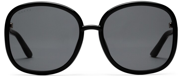 Gucci Specialized fit round-frame sunglasses
