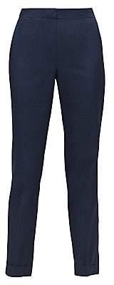Lafayette 148 New York Women's Sanctuary Clinton-Cuff Pants - Size 0