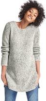 Gap Marled side-slit sweater