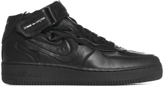 Comme des Garcons X Nike Air Force 1 Cut-Out Detailed Sneakers
