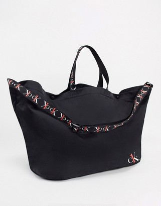 Calvin Klein Jeans CK1 Shopper with Logo Tape All Over