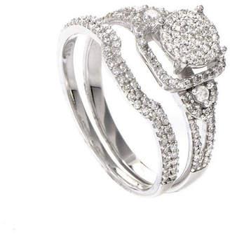 Diamond Select Cuts 14K 0.56 Ct. Tw. Diamond Ring Set