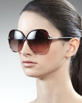 Tom Ford Islay Sunglasses, Brown
