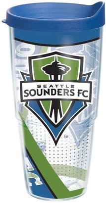 Tervis Clear Seattle Sounders FC 24oz. Tumbler with Lid