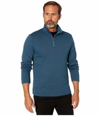 Calvin Klein Men's Liquid Touch Long Sleeve Quarter Zip Knit