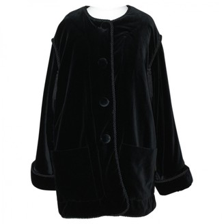 Georges Rech Black Velvet Jacket for Women Vintage