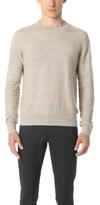 Club Monaco Rope Stripe Crew Sweater