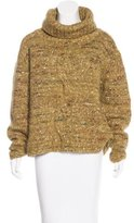 Stella Jean Cable Knit Wool-Blend Sweater