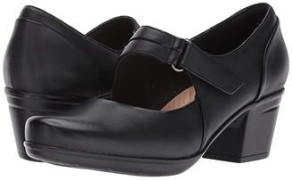 Clarks Emslie Lulin (Black) Women's Shoes