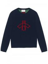 Gucci Bee pattern sweater