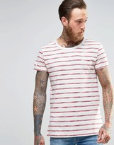 Lee Stripe Print T-shirt