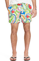 Polo Ralph Lauren Traveler Water Color Paisley Swim Trunks