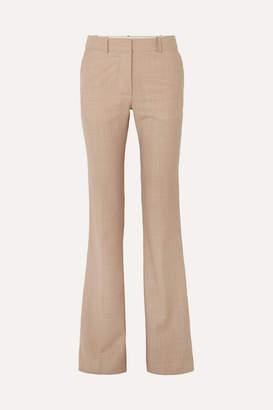 Victoria Beckham Wool Flared Pants - White
