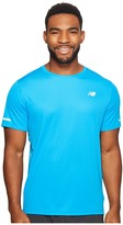 New Balance NB Ice Short Sleeve Top Men's Short Sleeve Pullover