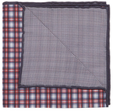 Brunello Cucinelli Checkered Print Pocket Square