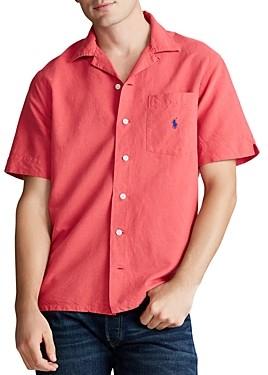 Polo Ralph Lauren Custom Fit Short-Sleeve Camp Shirt