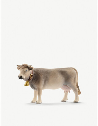 Selfridges Braunvieh Cow toy figure 10.4cm