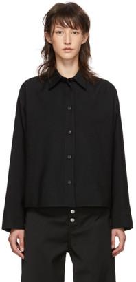 MM6 MAISON MARGIELA Black Boxy Shirt