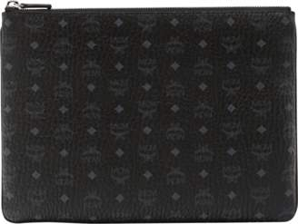 MCM Crossbody Pouch In Visetos Original