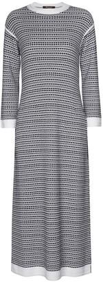 Loro Piana Silk and cotton midi dress