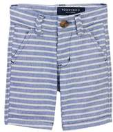 Toobydoo Breton Striped Shorts (Baby & Big Boys)