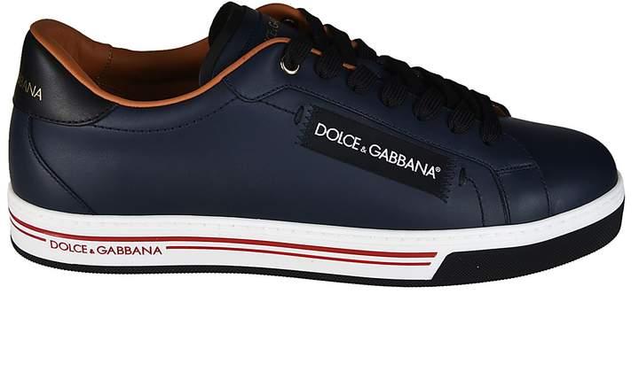 Dolce & Gabbana Logo Detailed Sneakers