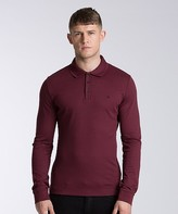 Calvin Klein Jeans Parrot Long Sleeve Polo Shirt