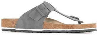 Birkenstock Leather Flip Flops