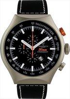 Avio Men's 50 MM GREEN Aluminum Case Chronograph Tachymeter Date Watch