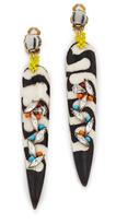 Erickson Beamon Safari Dagger Clip On Earrings