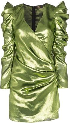 De La Vali Gin lurex mini dress