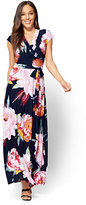 New York & Co. Wrap Maxi Dress - Floral