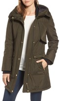 Ellen Tracy Women's Quilted Techno Parka