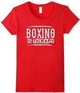 Boxing Is Therapy - Boxer Sports Athlete Saying T Shirt
