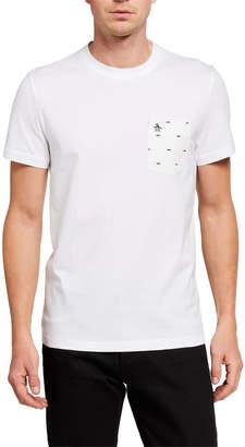 Original Penguin Penguin Men's Short-Sleeve Mustache Pocket T-Shirt