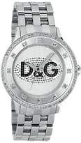 Dolce & Gabbana Men's DW0131 Silver Stainless-Steel Quartz Watch with Dial