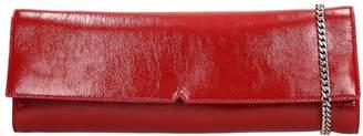 Giuseppe Zanotti Lorelai Clutch In Red Leather