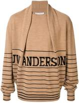 JW Anderson pleated detail jumper