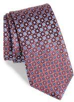 BOSS Medallion Neat Silk Tie